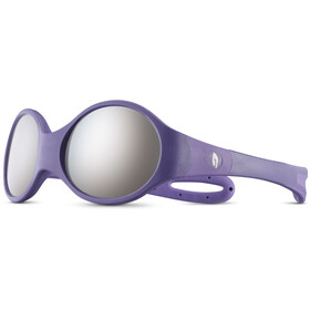 Julbo Loop L Spectron 4 Occhiali da sole Bambino, dark purple/purple/grey flash silver